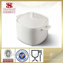 Mercancías reales finas al por mayor de la porcelana, sopera de cerámica de la sopa para el hotel