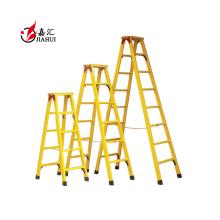 Escada de degrau de fibra de vidro de escada FRP