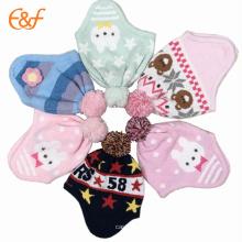 Nuevo diseño Baby Pompom Knit Hat para el invierno