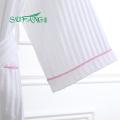 Linge d'hôtel / luxe 100% gaufre de coton / tissu de tery / velours peignoir hôtel