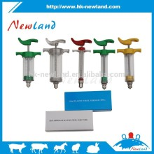 2015 new type full color TPX Plastic Veterinary Syringe