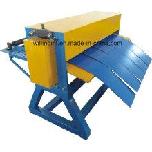 Machine à tailler la bobine d'acier simple de haute qualité