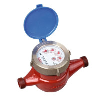 Traditional Dry Dial Rotary Vane Wheel Brass Flow Water Meter