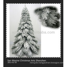 New style self snowing christmas tree