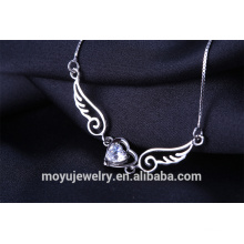 2015 Ожерелье оптового ангела крыла привесное