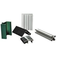 Perfiles de aluminio para rejilla de aire