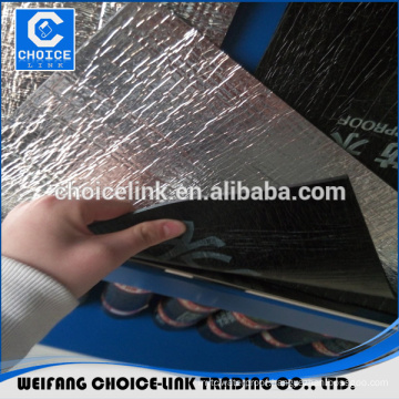 Torch applied APP bitumen aluminum foil waterproof membranes
