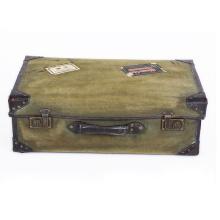 Tourbon пользовательские печать декоративные старинные PU чемодан старый стиль чемодан
