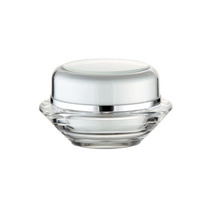 UFO Shape Transparent Acrylic Jar 15ml 30ml 50ml