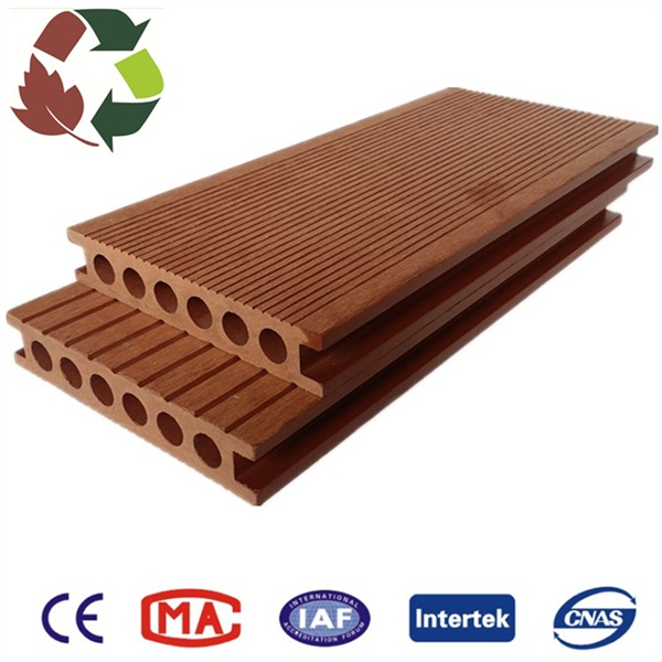 Extrusion Wpc Outside Decking with High Quality
