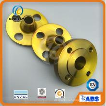 По asme/ANSI и Б16.5 углеродистая сталь Приварной встык А105 Шя Фланец RF (KT0406)