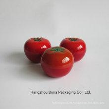 Serie cosmética de la botella de la forma del tomate de la fruta de Packagingempty del cuidado de piel al por mayor