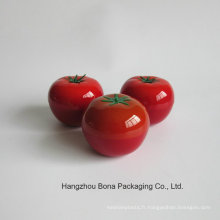 Gros Soins de la peau Packagingempty Fruits Tomate Forme Cosmetic Bouteille Série