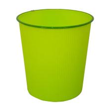 Plastik runde offene Top Mülleimer für Haus (B06-930-4)