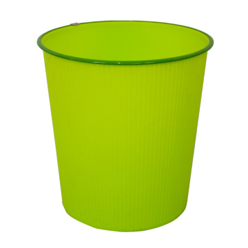 Plastic Round Open Top Dustbin for Home (B06-930-4)