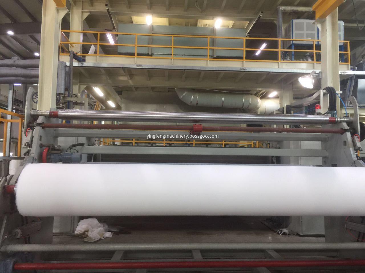 S nonwoven fabric machine
