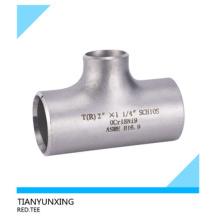 Combinaison de tuyaux en acier inoxydable / acier inoxydable soudé bout à bout