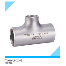 Butt Weld Seamless Duplex/Stainless Steel Pipe Fittings Tee