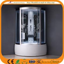 Sala de banho interna do vapor de vidro cinzento (ADL-8327)