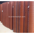 Anti-dizzle Galvanized dan PVC Coated Expanded Metal Mesh