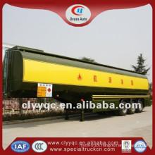 for sale 3 axle 50cbm 50,000L mini semi trailer