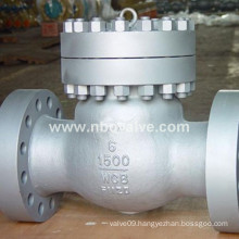 "Class 1500lb 6"" 304 Swing Flange Check Valve"