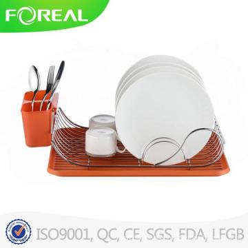 New Design Chromed Metal Wire Plate Holder