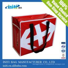 Fabriqué en Chine à bas prix qualité Zipper Tote Bag