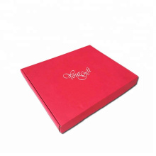 Custom Rose Red Thin Paper Boxes Professional Gifts Wholesale