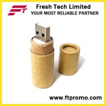 Recyclingpapier USB-Flash-Laufwerk mit Logo (D833)