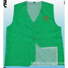 High Quality Custom Polyester Material Volunteer Waistcoat