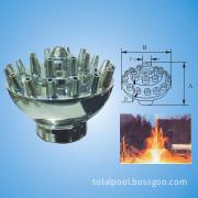 Unajustable Fireworks Fountain Nozzle (big base) (UF25-UF50)