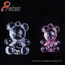 Wholesale Clear Little Bear, Acrylic Ornament