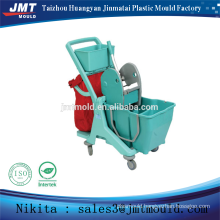 plastic injection double bucket wringer trolley mould                                                                         Quality Choice