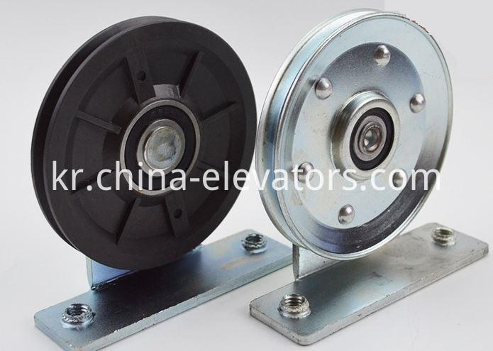 Steel Wire Rope Roller for Mitsubishi type Elevator Doors 90*11*6200
