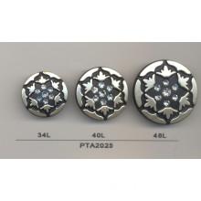 Fashion Plated Plastic Diamond Button