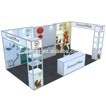 Detian Offer aluminum profile exhibition booth stand expo for sale