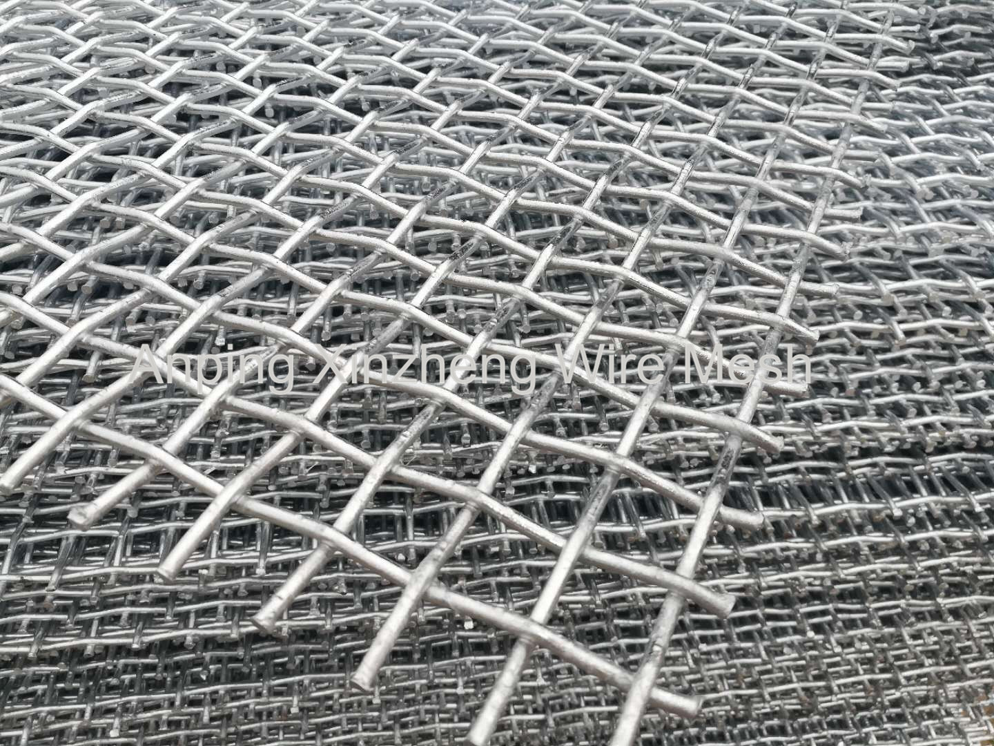 Hot-dipped Galvanized Crimped Mesh