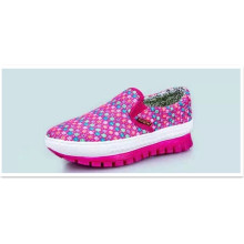 Fashion Shoes for Woman with Knitted Sport Shoes