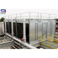 Torres de resfriamento abertas em aço de 322 Ton para unidades de resfriamento