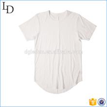 Modelo superior del gimnasio de la camiseta del invierno de los hombres de la manga corta de la gata superior