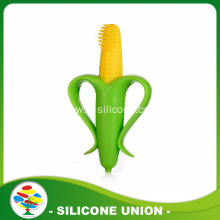 Corn Shape Non-toxic Food-grade Silicone Baby Teether