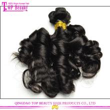 5A mongolische haarverlängerungen sexy aunty funmi jungfrau mongolischen haar