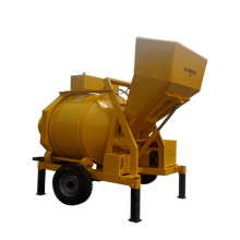self loading concrete drum mixer machine