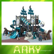 Heiße Kinder im Freien Spielplatz, Vergnügungspark Ausrüstung
