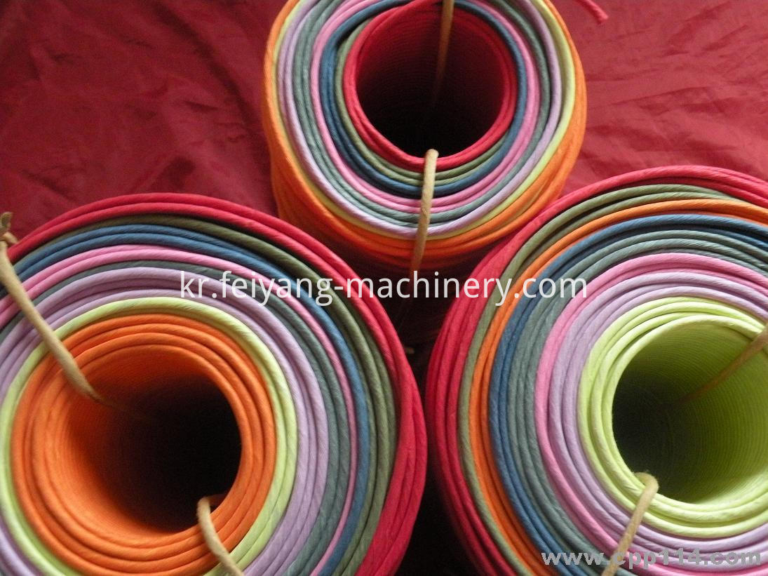 Colorful Twisted Paper Rope