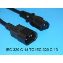 Equipo de VDE cables de alimentación