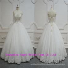 Vestido de novia de la belleza del diseño único