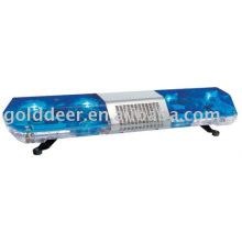 Azul Led giratorio que advierte Lightbar con altavoz OEM (TBD02622)