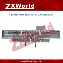 Elevador portas de fecho de portas / porta magnética permanente operador / sistema de porta do carro-4 painel porta de abertura lateral
